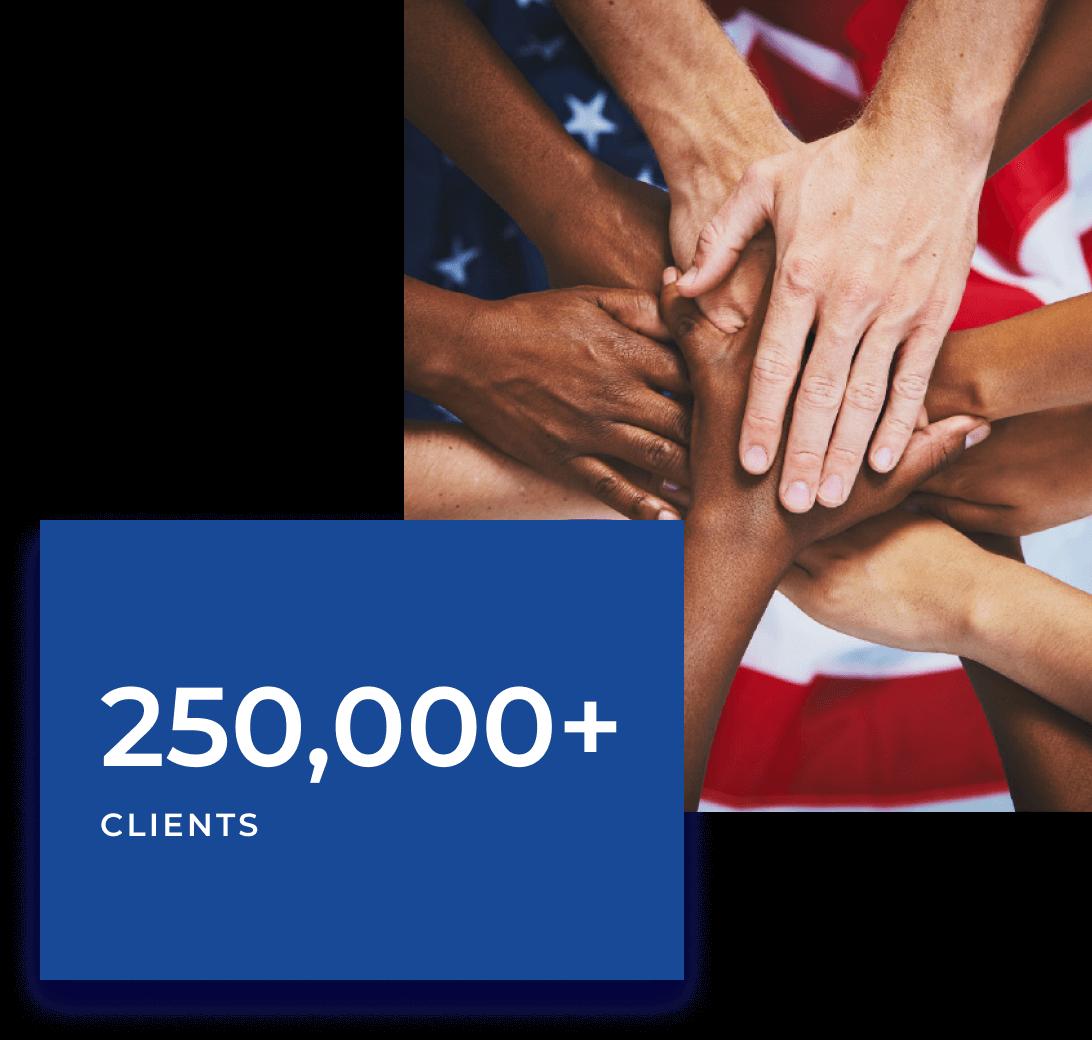 250,000+ Clients